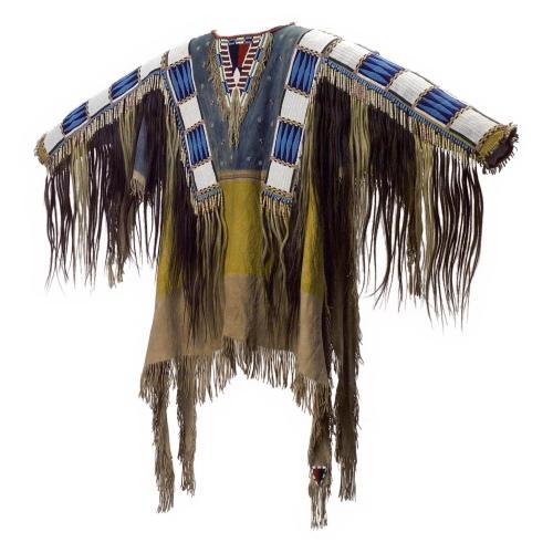 Oglala Lakota (Teton Sioux) artists, South Dakota - Man_s Shirt (1865)