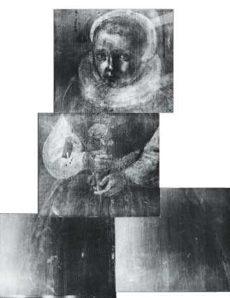 Portrait of Edward VI - radiograph