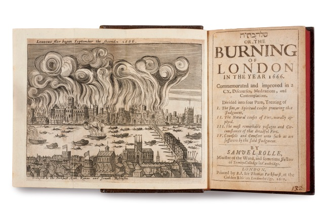 Shlohavot, or, The burning of London in the year 1666 by Samuel