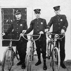 San Diego Police Bicycle Squad of 1917 edit