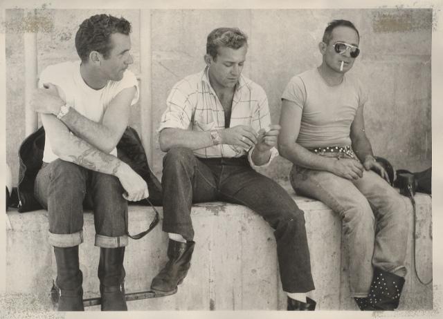 Satyrs Motorcycle Club at Salton Sea (1964)