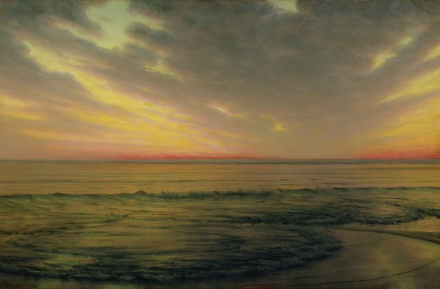 Thomas Alexander Harrison - Low Tide Brittany (c. 1890)