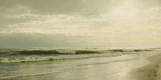 William Trost Richards - Ebbing Tide (1891)