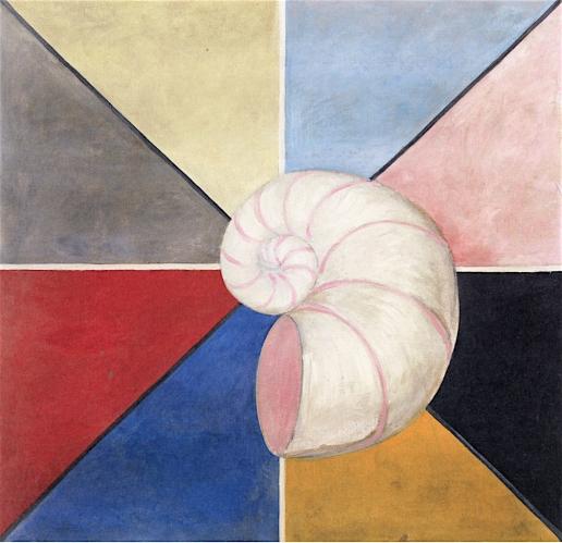Hilma af Klint - The Swan, No. 19, Group IX-SUW (1914-1915)