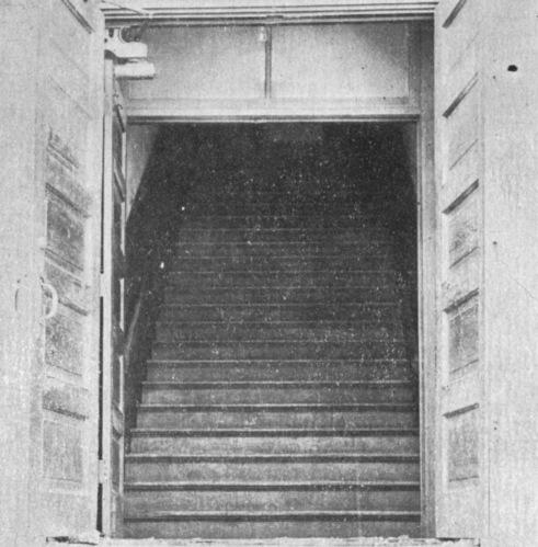 Italian Hall Stairway, Calument MI (1913)