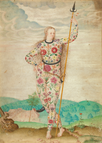 Jacques Le Moyne de Morgues - A Young Daughter of the Picts (ca. 1585)