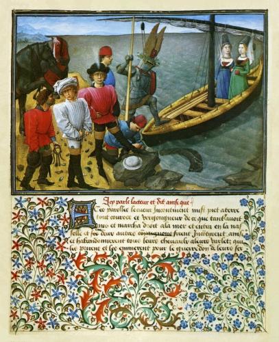King René of Anjou -- Le Livre Du Cueur D'amours Esprit (1457)