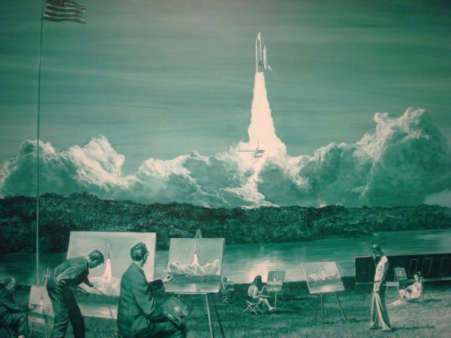 Mark Tansey - Action Painting II (1984)