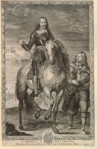 Pierre Lombart - Charles I (1655-1670)