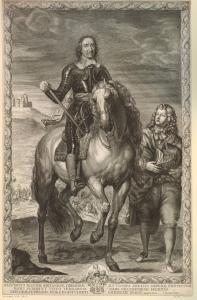 Pierre Lombart - Cromwell (1655-1670)