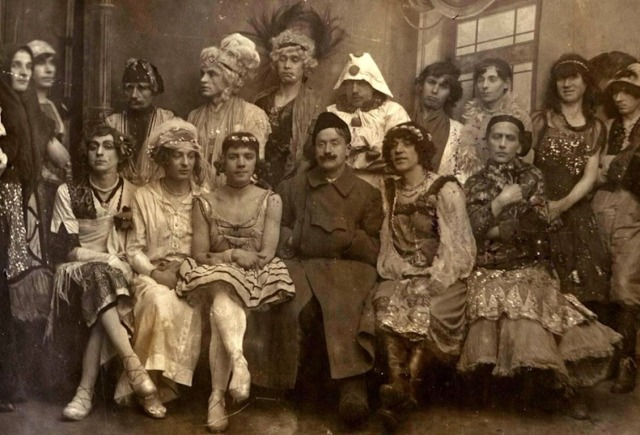 Drag Ball, Russia, 1920's