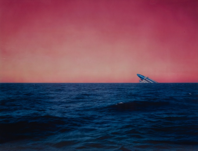 Florian Maier-Aichen - Untitled (Seascape with Monument) (2003)