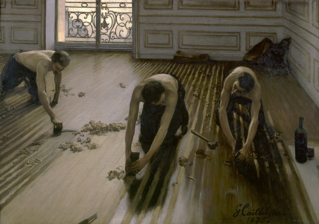 Gustave Caillebotte - The Floor Scrapers (1875)