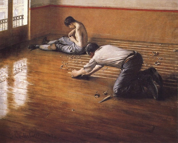 Gustave Caillebotte - The Floor Scrapers (1876)