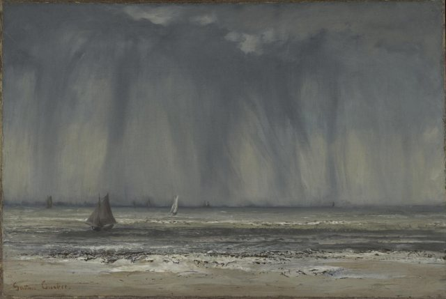 Gustave Courbet - The Waterspout (1866)