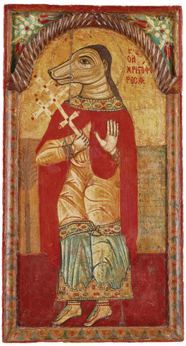 Saint Chritopher - Cappadoca, 17th Century