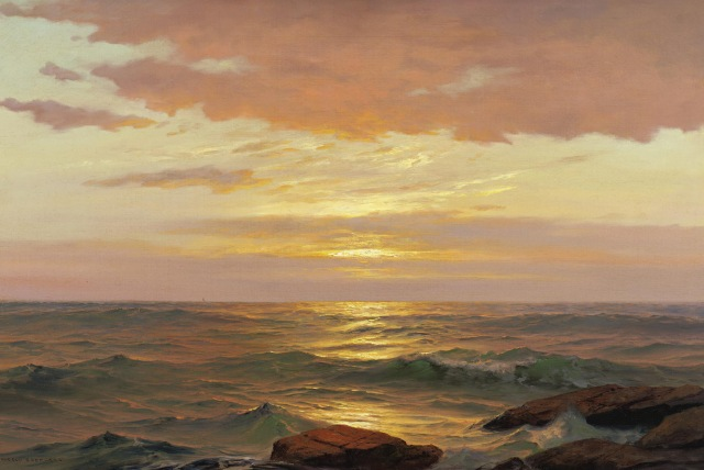 Warren Sheppard - Sunrise, Bay of Fundy