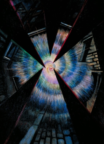 Bursting Shell 1915 by Christopher Richard Wynne Nevinson 1889-1946