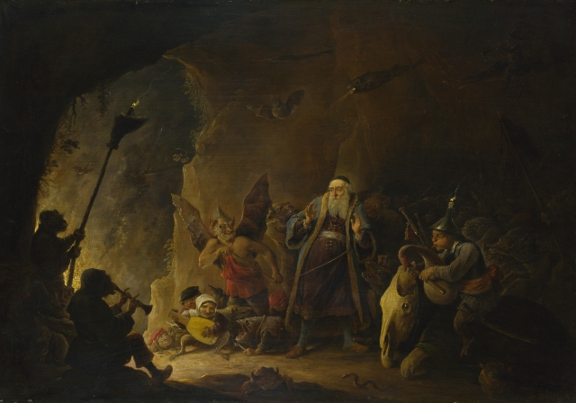 David Teniers the Younger - The Rich Man being led to Hell (c 1647)