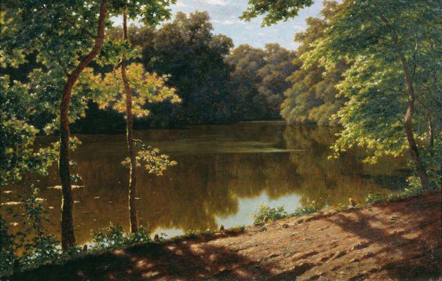 Ivan Fedorovich Choultse - Park in Neskuchnoye (1919)