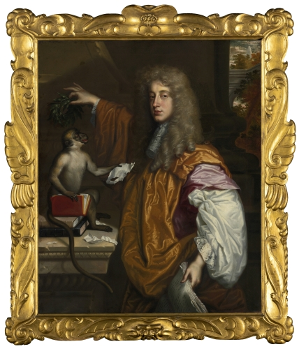 Jacob Huysmans - Portrait of John Wilmont, 2nd Earl of Rochester (1647-1680)