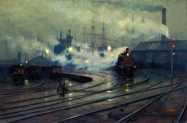 Lionel Walden - Cardiff Docks (1896)