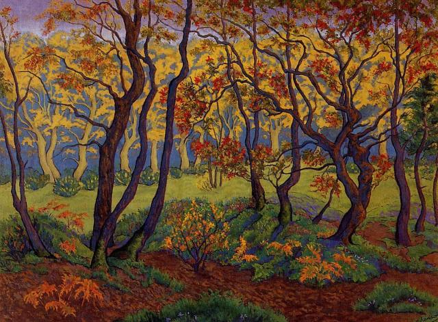Paul Ranson - The Clearing or Edge of the Wood (c. 1895)