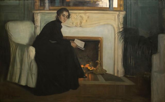 Santiago Rusiñol - Novela romántica (1894)