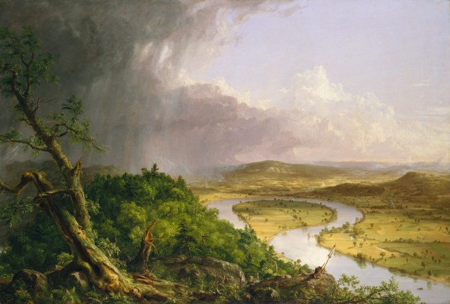 Thomas Cole - View from Mount Holyoke, Northampton, Massachusetts, after a Thunderstorm—The Oxbow (1836)