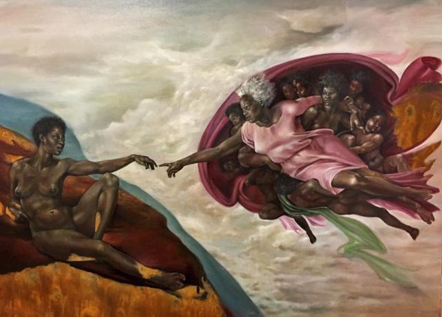 Harmonia Rosales - The Creation of God (2017)