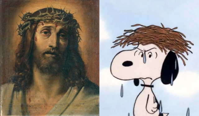 Annibale Carracci - Christ Crowned with Thorns - Snoopy