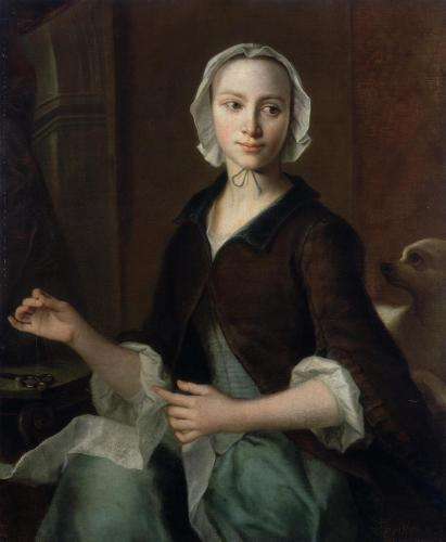 Christian Seybold - Seamstress (First half - middle of the 18th century)