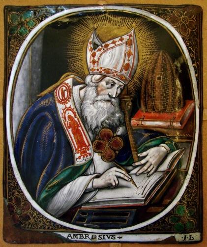 Jacques I Laud - Saint Ambrose