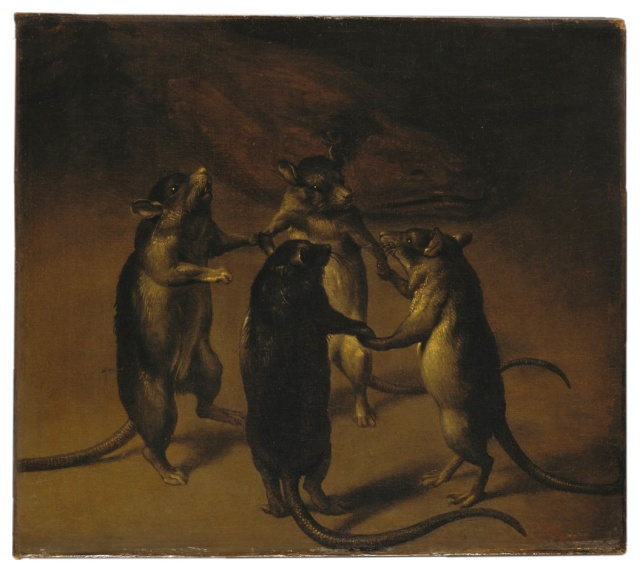 Ferdinand Van Kessel - The Dance of the Rats (1690)