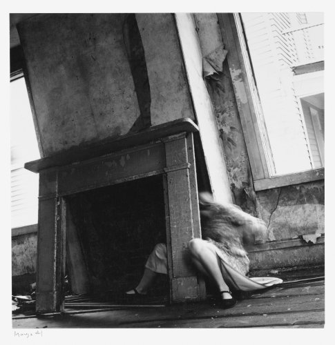 Francesca Woodman - House #4, Providence, Rhode Island, 1976
