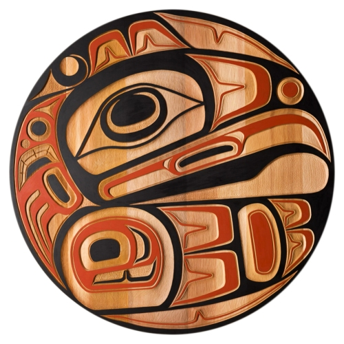 Jim Charlie (Squamish) - Eagle Panel (c. 2018)