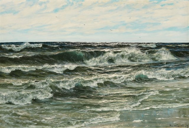 Patrick von Kalckreuth - Seascape
