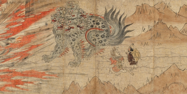 Illustrated Legends of the Kitano Tenjin Shrine Kamakura period (1185–1333)
