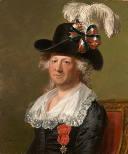Thomas Stewart - Chevalier d'Eon (1792)