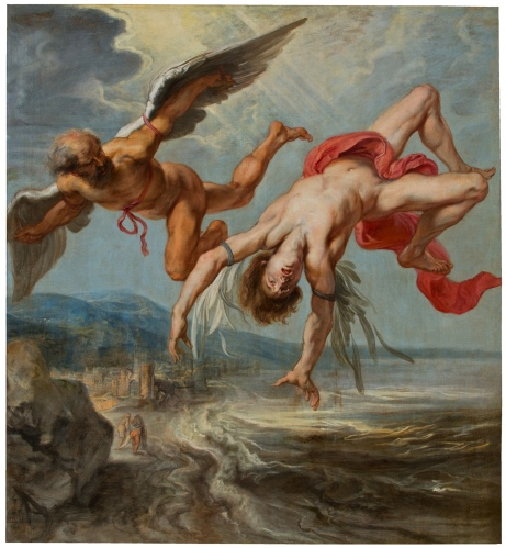 Jacob Peeter Gowy - The Fall of Icarus (1638)
