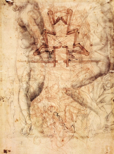 Michelangelo Buonarroti - Fortifications for Florence (1529)