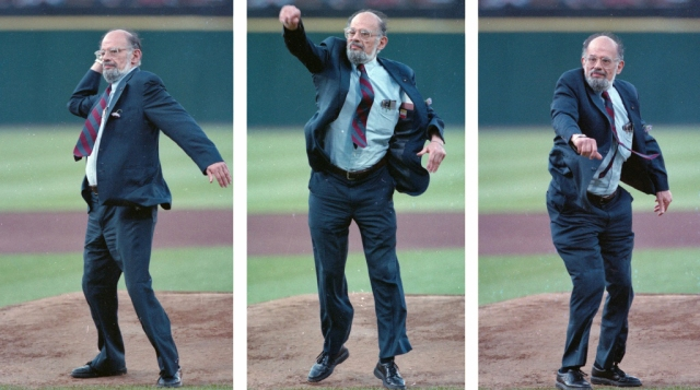 Allen Ginsberg - First Pitch at SF Giants Game (1994)