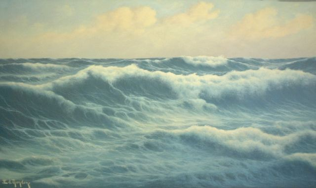 Édouard Mandon - [seascape]