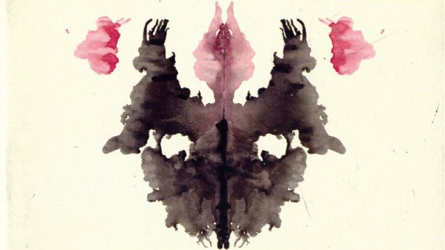 Hermann Rorschach - Early Draft of Card III