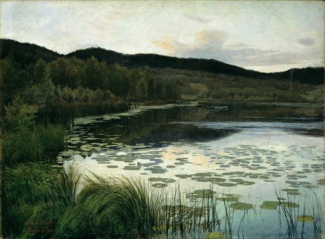 Kitty Kielland - Summer Night (1886)