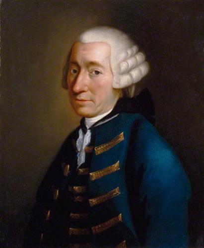 Unknown Artist - Portrait of Tobias Smollett (c. 1770)
