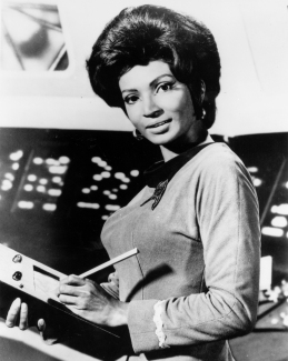 nichelle nichols - nasa photo (1977)