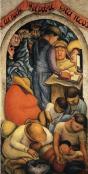 Diego Rivera - El sueño (La noche de los pobres) (1928)