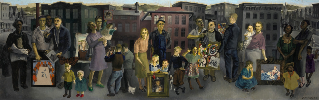 Honoré Sharrer - Workers and Paintings (1943)
