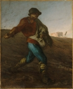 Jean-François Millet - The Sower (1850)
